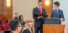 Mooting and competitions