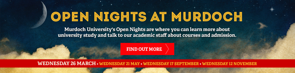 course open nights banner