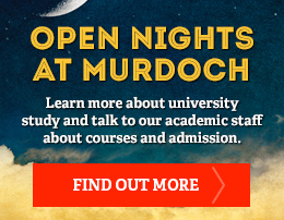 Find out more about Open nights at Murdoch