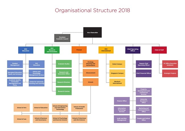 Click on the image to open the full size image of Organisational Structure 2018