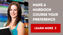 Make a Murdoch course your preference