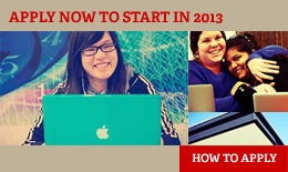 Apply Now for 2013