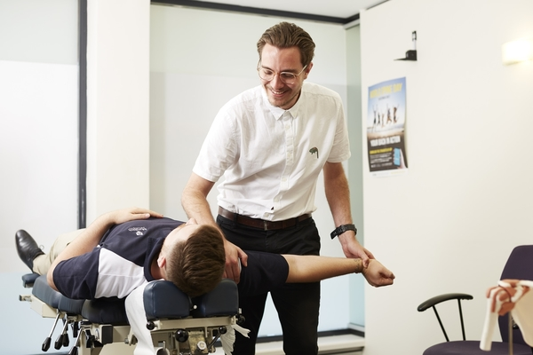 Murdoch Chiropractic outreach clinic treatment