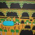 Reggie HOOSAN, Untitled, 2009. Acrylic on canvas. 80 x 120 cm. Donated through the Australian Government's Cultural Gifts Program by Jacquie McPhee, 2012.