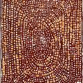 Walangkura NAPANANGKA, Untitled, 2001. Acrylic on linen. 122 x 91 cm. Donated through the Australian Government's Cultural Gifts Program by Dan and Dr Diane  Mossenson, 2012.