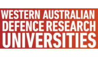 Western Australian Defence Research Universities logo