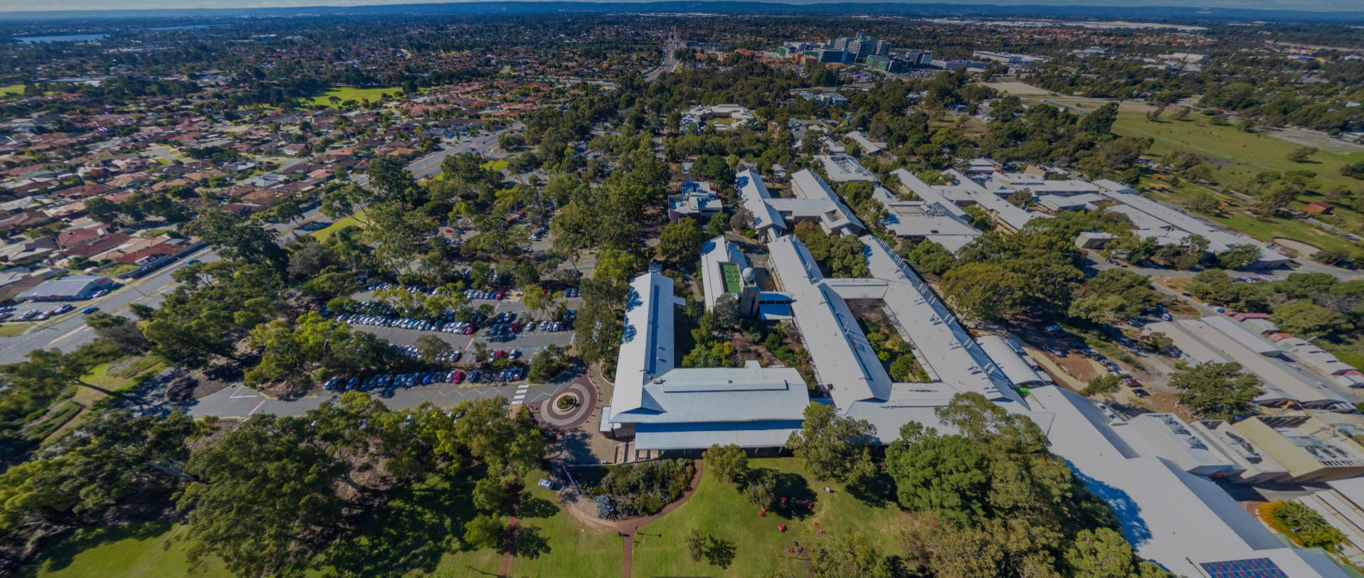 Aerial of Murdoch's Perth Campus