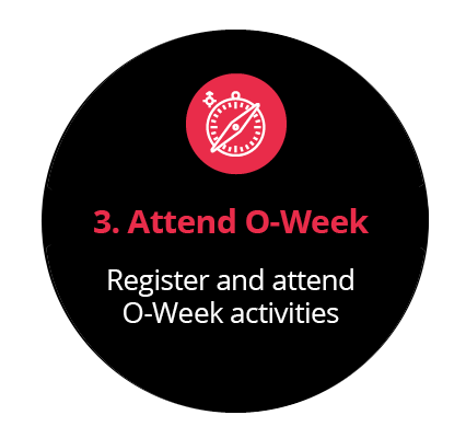 Register and attend O-Week activities