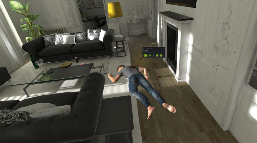 VirtualCSI crime scene