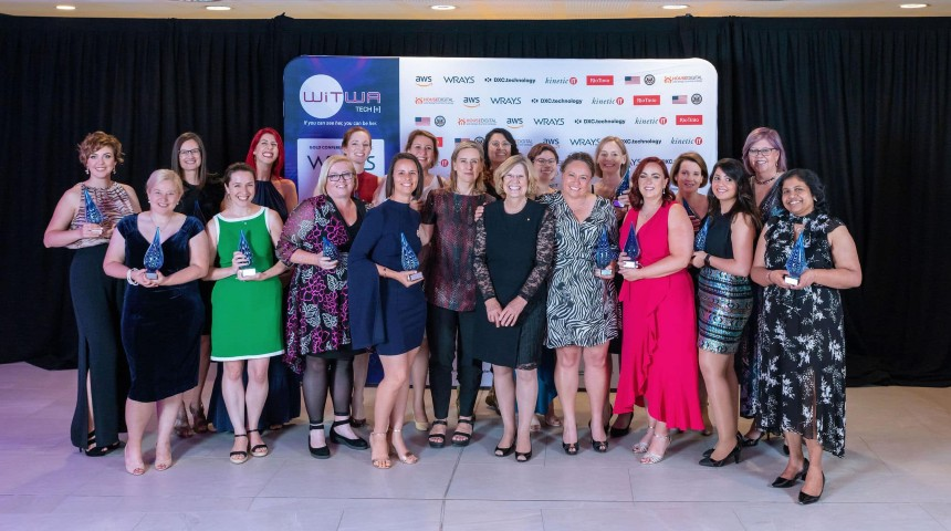Winners of the WiTWA tech awards 2020